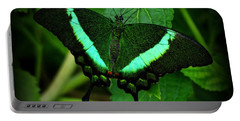 Emerald Swallowtail Portable Battery Charger