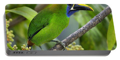 Emerald Toucanet Portable Battery Charger