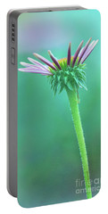 Emerging Purple Conefower Reaching For The Sky Portable Battery Charger