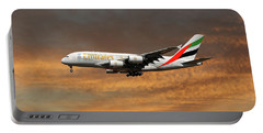 Emirates Airbus A380-861 3 Portable Battery Charger