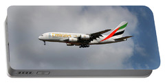 Emirates Airbus A380-861 5 Portable Battery Charger