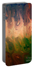 Emotion Acrylic Abstract Portable Battery Charger