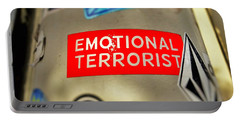 Emotional Terrorist In New York  Portable Battery Charger