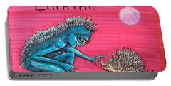 Empathetic Alien Portable Battery Charger