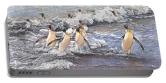 Emperor Penguins Portable Battery Charger