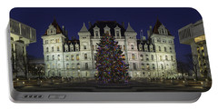 Empire State Plaza Holiday Portable Battery Charger