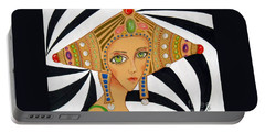 Empress Exotica -- Whimsical Exotic Woman Portable Battery Charger
