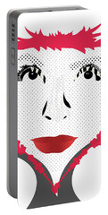 Empress Red Portable Battery Charger