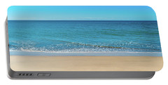 Empty Beach Portable Battery Charger