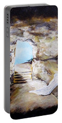 Empty Burial Tomb Portable Battery Charger