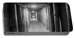 Portable Battery Charger featuring the photograph Empty Corridor by Juli Scalzi