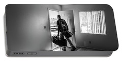 Portable Battery Charger featuring the photograph Empty by Eric Christopher Jackson