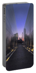 Empty Sky 911 Memorial Portable Battery Charger by Tom Singleton