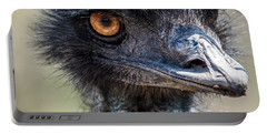 Emu Eyes Portable Battery Charger by Paul Freidlund