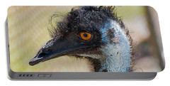 Emu Portable Battery Charger by Kenneth Albin