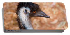 Emu Profile Portable Battery Charger by Mike  Dawson