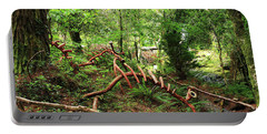 Portable Battery Charger featuring the photograph Enchanted Forest by Aidan Moran