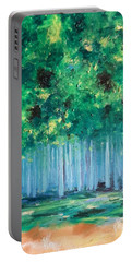 Enchanted Poplars Portable Battery Charger