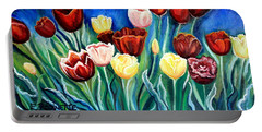 Enchanted Tulips Portable Battery Charger