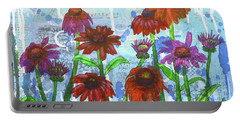Enchanting Echinacea Portable Battery Charger