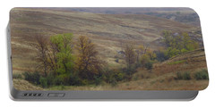 Enchantment Of The September Grasslands Portable Battery Charger