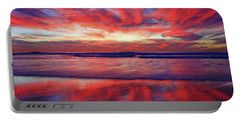 Portable Battery Charger featuring the photograph Encinitas Afterglow by John F Tsumas