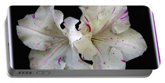 Encore Azaleas Portable Battery Charger by James C Thomas
