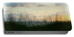 Portable Battery Charger featuring the photograph End Of Day At Pentwater by Michelle Calkins