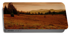 Portable Battery Charger featuring the photograph End Of Day by Frank Wilson