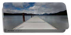 End Of The Dock Portable Battery Charger by Fran Riley