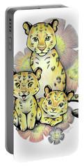 Endangered Animal Amur Leopard Portable Battery Charger