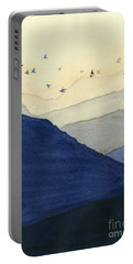 Endless Mountains Left Panel Portable Battery Charger