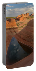 Portable Battery Charger featuring the photograph Engaging Sunset by Dustin LeFevre
