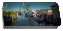 Englehardt,nc Fishing Town Portable Battery Charger