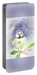 English Blue Tit Portable Battery Charger