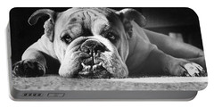 English Bulldog Portable Battery Charger
