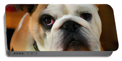 English Bulldog Portable Battery Charger
