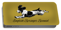 English Springer Spaniel Portable Battery Charger