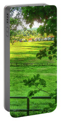 English Summer Contentment  Portable Battery Charger
