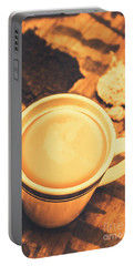 English Tea Breakfast Portable Battery Charger