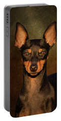 English Toy Terrier Portable Battery Charger