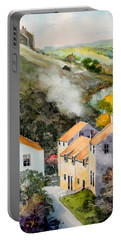 English Village Portable Battery Charger