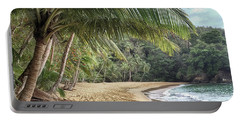 Portable Battery Charger featuring the photograph Englishmans Bay Tobago by Rachel Lee Young