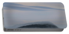 Engulfed In Fog Portable Battery Charger by Living Color Photography Lorraine Lynch