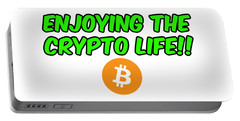 Enjoy The Crypto Life #2 Portable Battery Charger
