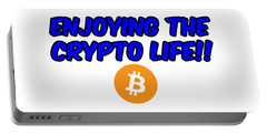 Enjoy The Crypto Life #4 Portable Battery Charger