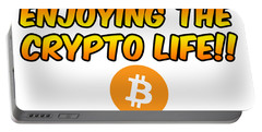 Enjoying The Crypto Life#1 Portable Battery Charger