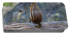 Enjoying The View Portable Battery Charger by John Roberts