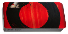 Enso With Koi Red And Gold Portable Battery Charger
