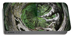 Portable Battery Charger featuring the photograph Enter The Root Cellar by Gary Smith